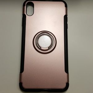 """Case for iphone xs max 6.5"""" goldrose-black new"""